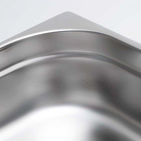 pojemnik stalowy, GN 1/4, H 40 mm
