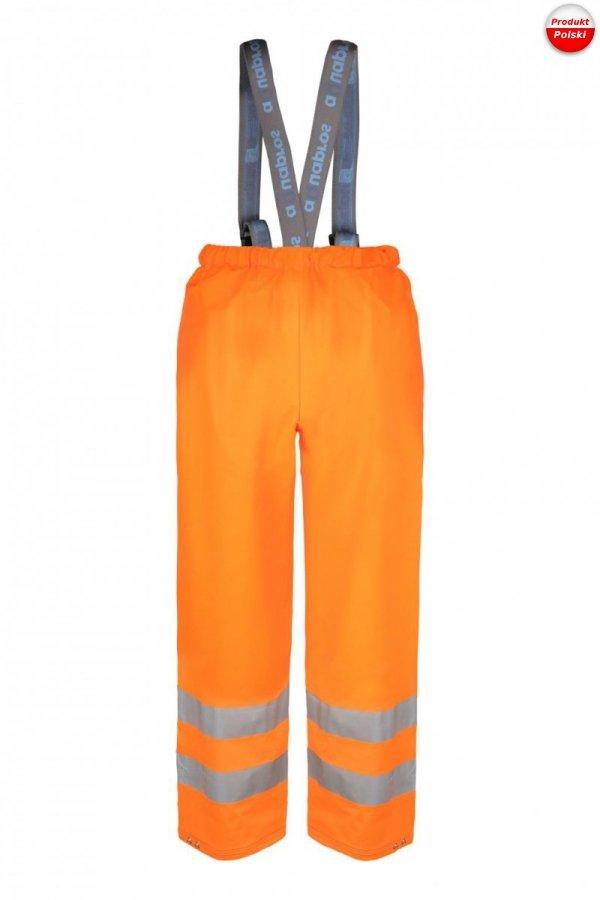 Spodnie do pasa na szelkach ostrzegawcze AQUAPROS model 4189