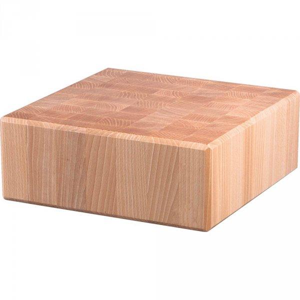 kloc masarski, drewniany, 400x500x100 mm