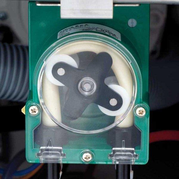 zmywarka do garnków i tac 570x620mm z dozownikiem płynu myjącego oraz pompą wspomagającą płukanie