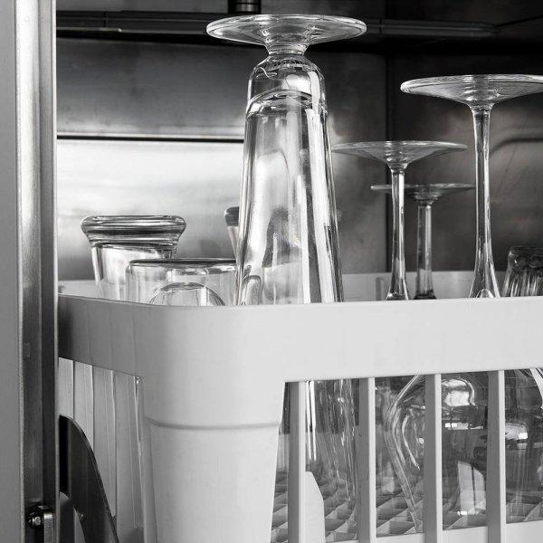 zmywarko wyparzarka, do szkła, dozownik płynu myjącego, P 2.77 kW, U 230 V