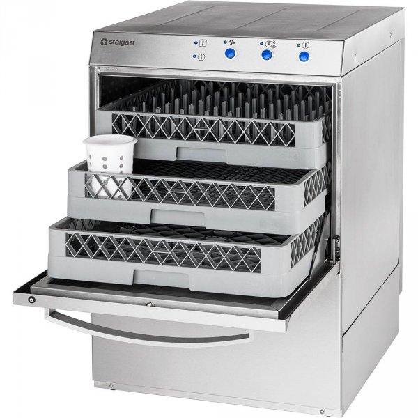 zmywarka uniwersalna 400/230V z dozownikiem płynu myjącego Stalgast
