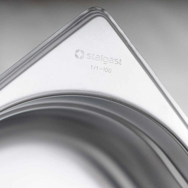 pojemnik stalowy, GN 1/3, H 150 mm
