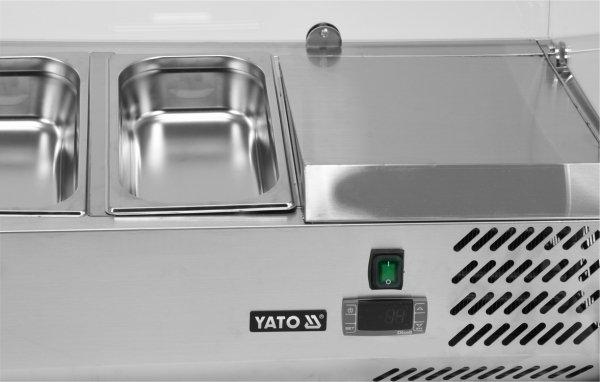 WITRYNA CHŁODNICZA NADSTAWNA 9x1/3 GN Yato YG-05332