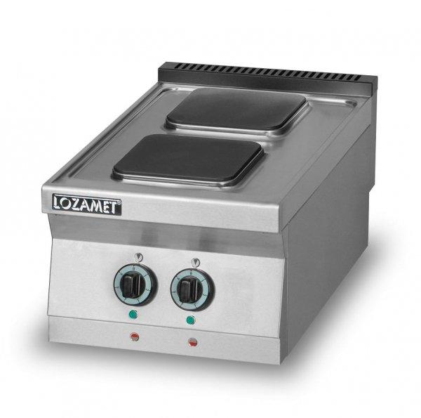 Kuchnia elektryczna 2-płytowa L700.KE2 Lozamet