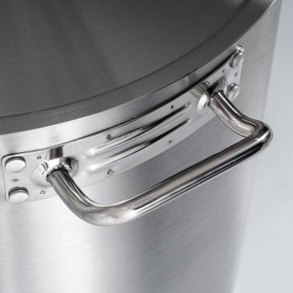 Garnek wysoki bez pokrywki, stalowy, O 500 mm, V 98.2 l