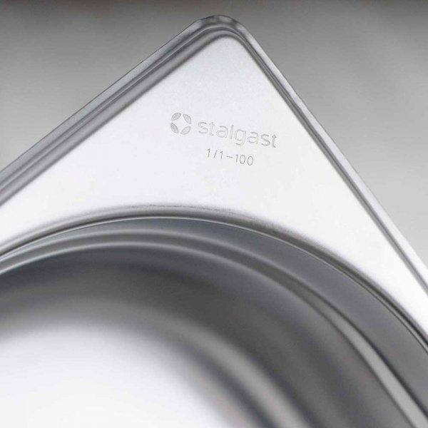 pojemnik stalowy, GN 1/4, H 150 mm