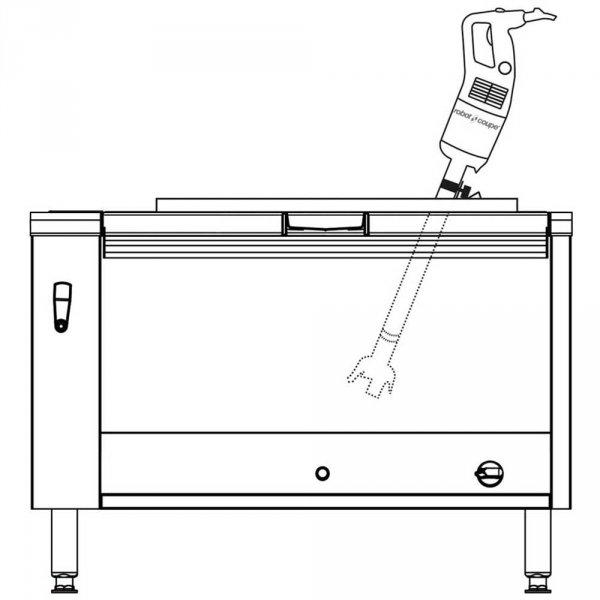 mikser ręczny, MP 550 Ultra, P 0.75 kW, U 230 V