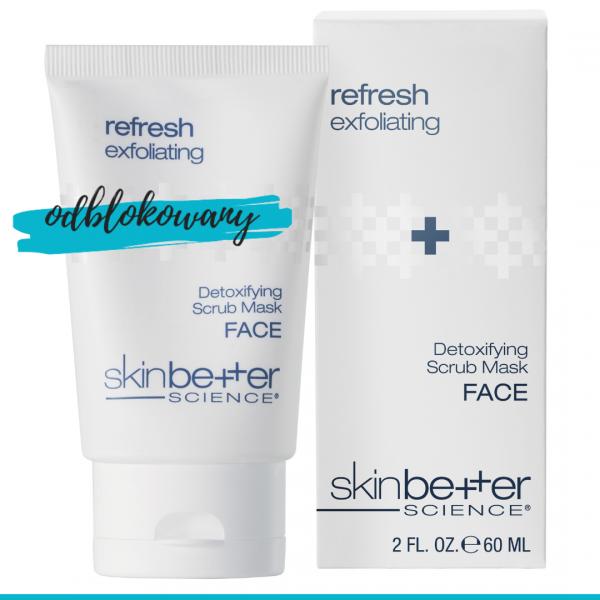 SkinBetter Science Detoxifying Scrub maska detoks, oczyszczanie i wzmocnienie 60 ml