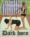 Dark Horn Orkan Whip Orkan obroża, smycz + pejcz