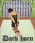 Dark Horn Murgo zestaw kajdanek do krępowania rąk i nóg BDSM