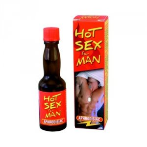 Afrodyzjak HOT SEX MAN krople dla panów