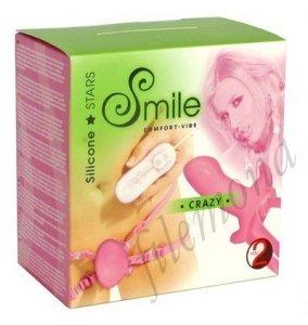 Smile CRAZY stymulator na paskach 7 programów