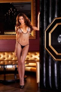 Siateczkowe Bodystocking Fencenet Electric Lingerie 526