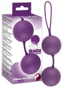 Duże kulki gejszy XXL Balls Purple