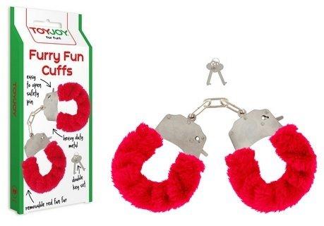 Czerwone kajdanki Furry Fun