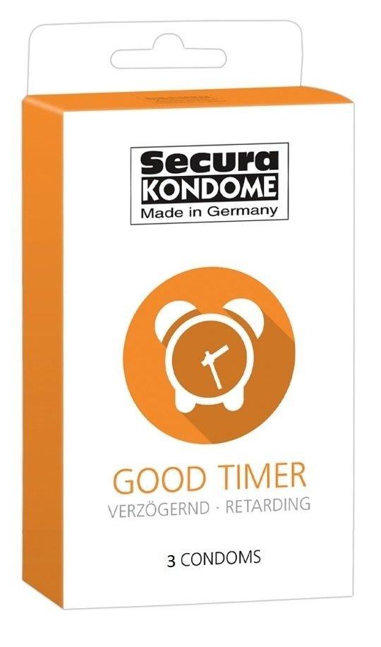 Prezerwatywy SECURA Good Timer 3szt