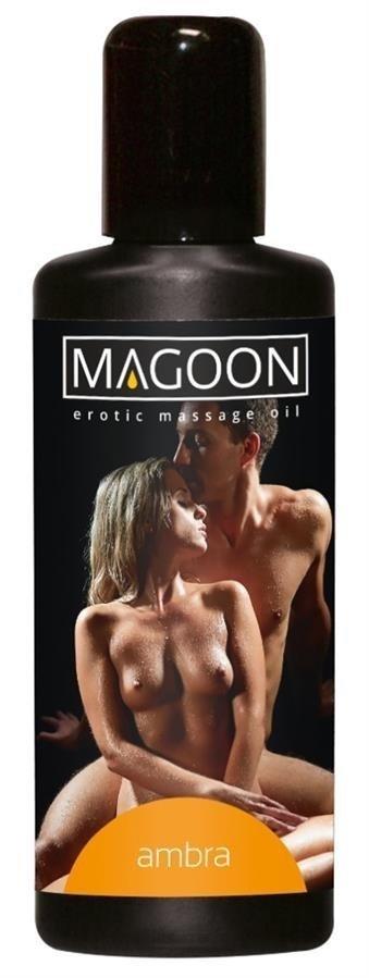 Olejek do masażu erotycznego Ambra Magoon