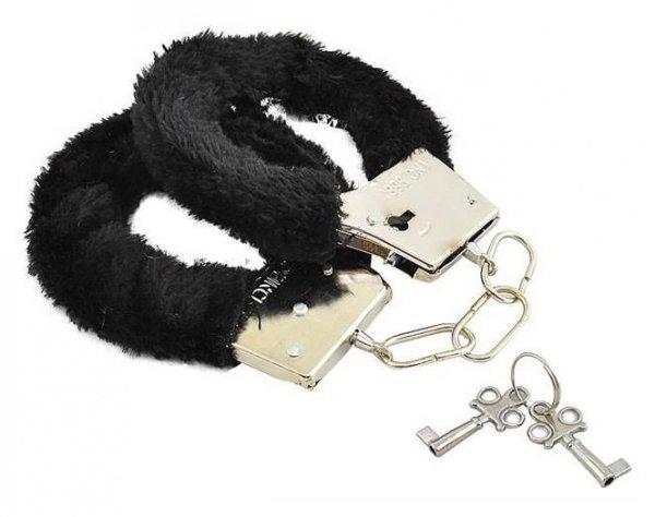 Czarne kajdanki Desire Handcuffs