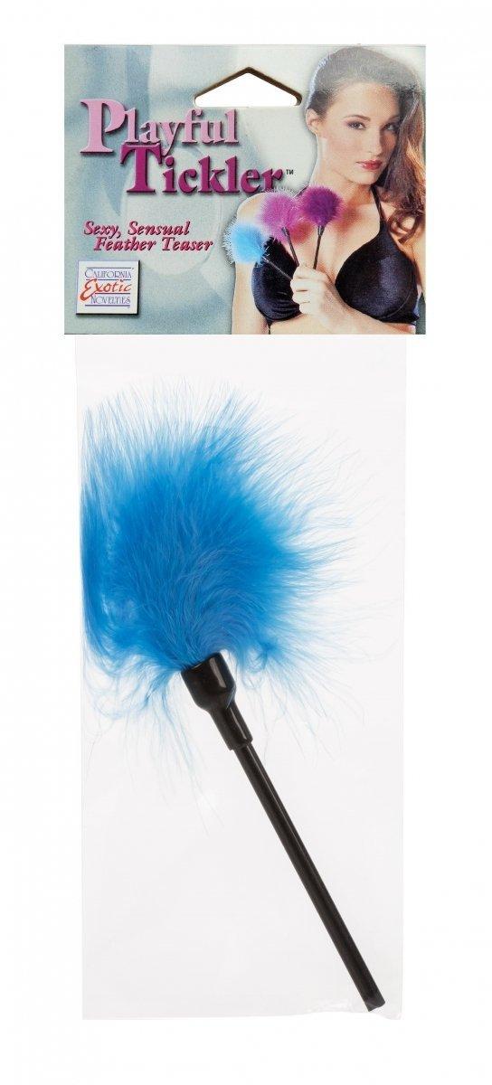Niebieskie piórko Sexy Playful Tickler  opakowanie