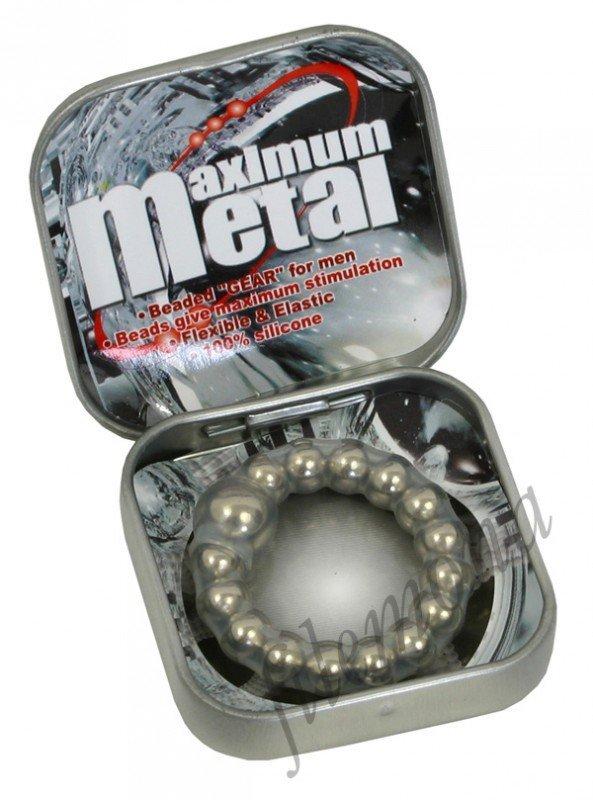 Erekcyjny ring na penisa Maximum Metal