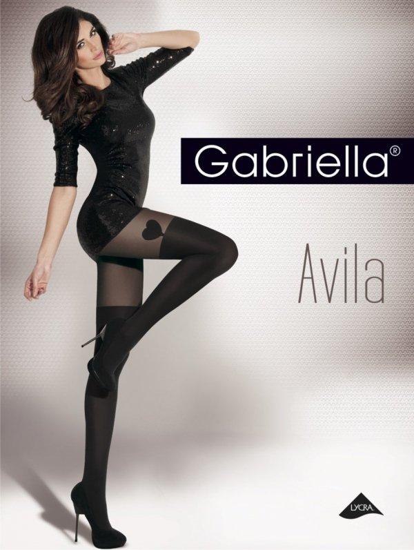 Rajstopy Gabriella Avila czarne opakowanie