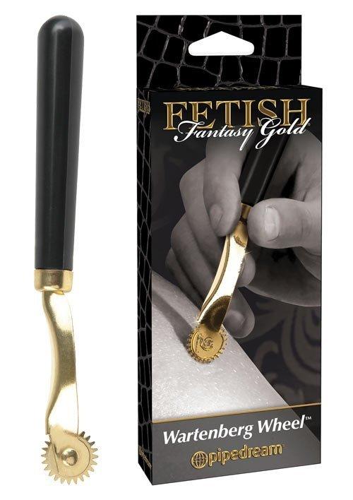Fetish Fantasy Gold Wartenberg Wheel stymulator nerwów opakowanie