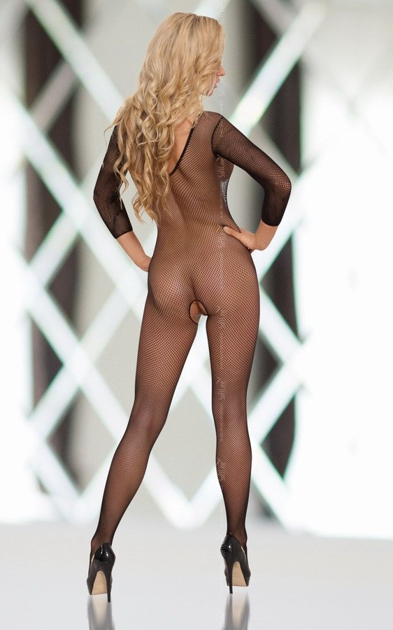 Bodystocking Netty Black seksowne roz. S-L