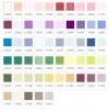 Ariadna nowe kolory spis kolorów z symuliacją graficzną