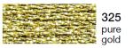 mulina Madeira Metalic perle 10 -pure gold  325