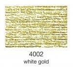 mulina Madeira Madeira Metallic 4-white gold 4002