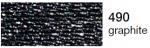 mulina Madeira Metalic perle 10 -graphite 490