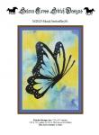Wzór do haftu M2025 - black butterflay01