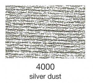 mulina Madeira Metallic 4-silver dust 4000