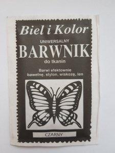 Barwnik - Biel i Kolor - czarny