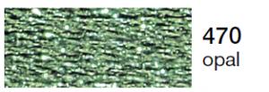 mulina Madeira Metalic perle 10 -opal 470