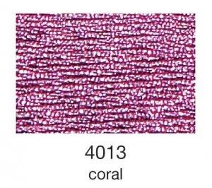 mulina Madeira Metallic 4-coral 4013