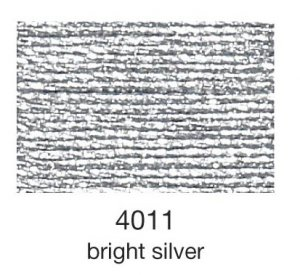 mulina Madeira Metallic 4-bright silver 4011