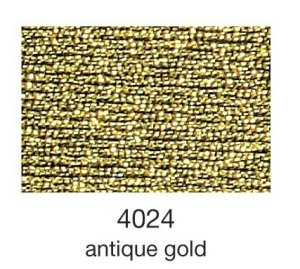mulina Madeira Metallic 4-antique gold 4024