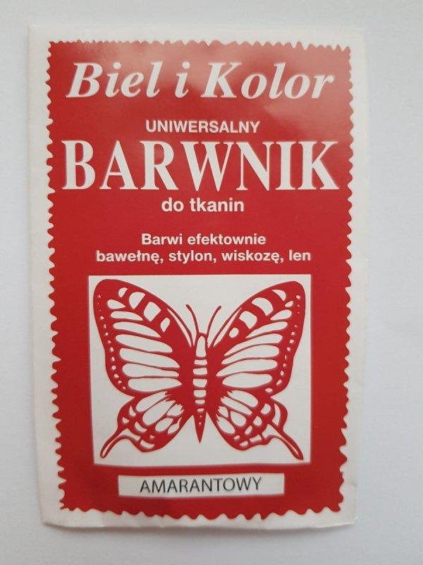Barwnik - Biel i Kolor - amarantowy