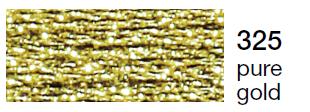 Metalic perle 10 -pure gold  325