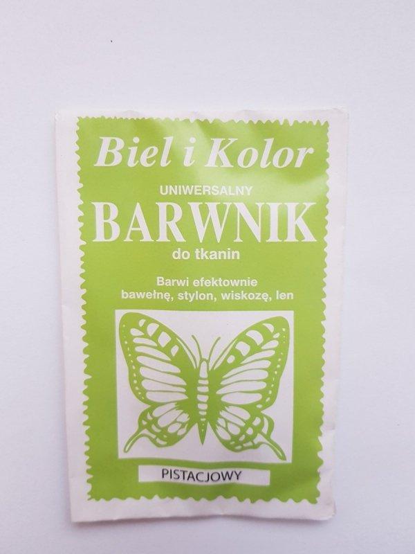 Barwnik - Biel i Kolor - pistacjowy