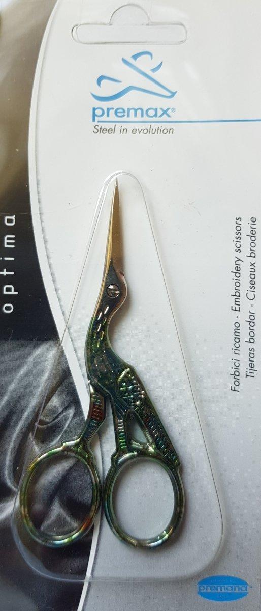Nożyczki permax zielone