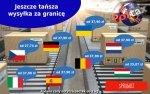 Obniżamy koszty wysyłki za granicę