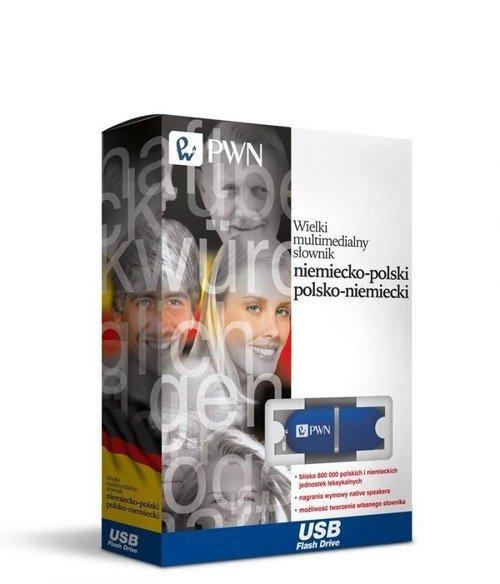 Pendrive - Wielki Multimedialny słownik niemiecko-polski polsko-niemiecki