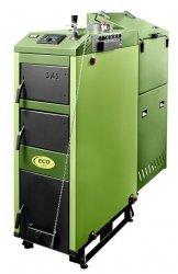 SAS ECO 7.0 78kW z podajnikiem tłokowym na miał węglowy, eko-groszek, pelety i zastępczym rusztem wodnym