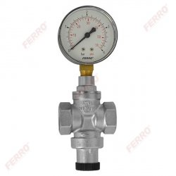 Reduktor ciśnienia 3/4- standard z manometrem