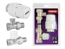 Ferro zestaw termostatyczny wersja prosta ZTM20