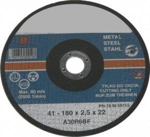Tarcza do cięcia metalu 230X2,5mm płaska