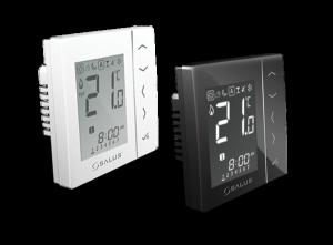 Regulator temperatury VS20BRF Salus CZARNY
